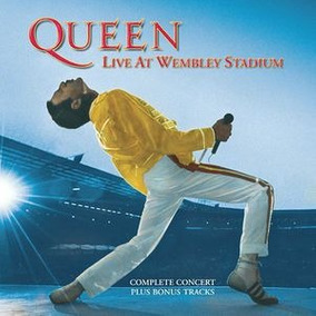 Cd Queen Live At Wembley Stadium Importado