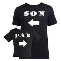 Polo Personalizado Papa Y Hijo