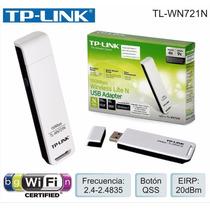 Adaptador Wireless Receptor Tp Link Tl Wn721n Usb 150mbp