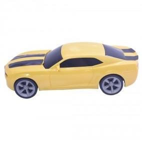Carro Esportivo Camaro 569-c Carrinho Bigstar Amarelo
