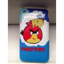 Funda Iphone 3g / 3gs Angry Birds Azul