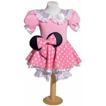 Disfraz Minnie Rosa Princesas Primera Calidad