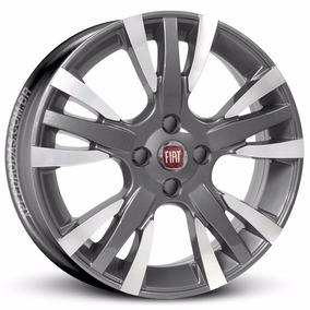 Rodas Fiat Palio Sporting R18 Aro 14x6,0 Grafite Diamantada
