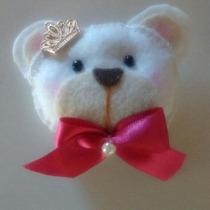 Urso De Feltro- Chaveiro Ou Imã- Lembrancinha 10 Peças