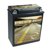 Bateria Route Yb12aa 12 Amperes,cb 400, Cb 450 Dx Cbr 450