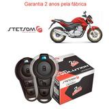 Alarme Honda Cb 300 R 2010 Stetsom Moto Triplo Partida