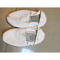Alpargatas Blancas Confortable