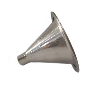Corneta De Alumínio Cone Curto De Rosca Boca Jarrinho D250