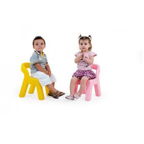 Novo Brinquedo Para Playground Cadeirinha Baby Rosa Xalingo