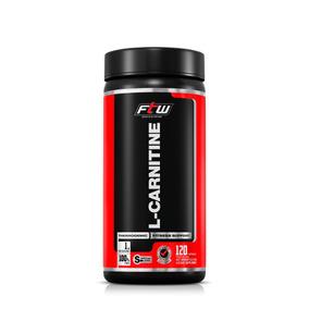L-carnitina 1000mg(dose) Ftw 120cáp Termogênico