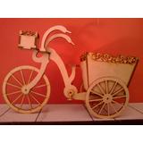 Bicicleta Con Carrito En Fibrofacil