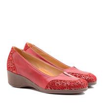 Zapatos Cuero Linea Confort Taco Chino Art 2923 - Tallon