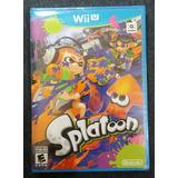 Splatoon Para Wii U Nuevo Fisico