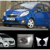 Bisel Cromado Para Neblineros Chevrolet Spark Gt 2010-2014