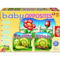14900 Baby Opuestos Rompecabezas De Educa 24 M 12 Piezas