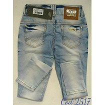 Calça Jeans Oppnus Feminina Frete Grátis Lycra 2517