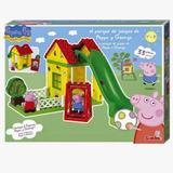 Parque Juegos Peppa Pig Y George Bloques Construccion 33pz