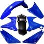 Kit Plasticos Yamaha Xtz 125 Azul Motos Miguel