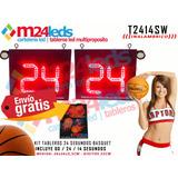 Reloj Kit 24 Segundos Inalambricos Basquet Basket W.polo