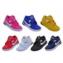 Caixa De Tênis Infantil Atacado Com 20 Pares Puma Ou Nike