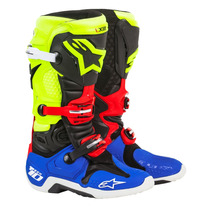 Botas Alpinestars Tech 10 A1 Special Edition Moto Cross Fas