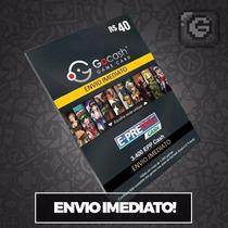 Cartão Go Cash Game Card R$ 40 Reais - Envio Imediato