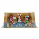 Playset Alice País Das Maravilhas 6unid. Boneca Disney Store