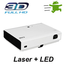 Projetor Smart Android 3d 4500 Ansi Lúmens - Wifi/bluetooth