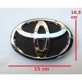Logo Emblema Insignia Toyota 15x10,5 Cm Nuevos Sellados