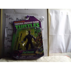 Ninja Foot Soldier Tortugas Ninja Muñeco Nuevo Nickelodeon