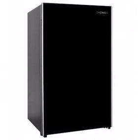 Refrigerador Frigobar Daewoo Negro 4 Pies Cu. Manija Oculta