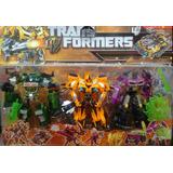 Set Juguetes Transformers, Bumblebee, Optimus, Autos-robot