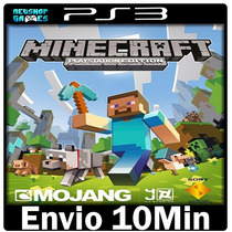 Minecraft Ps3 Play3 Psn ** Digital -- Portugu