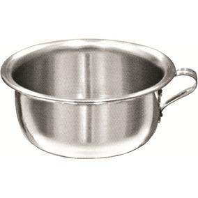 Urinol Pinico Aluminio 2,3 Lts Kit Acessorios Banheiro Inox