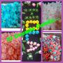Accesorios Tortas Artesanales Letras,flores Figuras ,pimpoll
