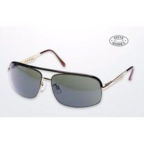 Lentes Gafas Steve Madden Aviador 100% Uv Caballero Stock
