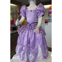 Vestido Princesa Sofia! Hermosa!