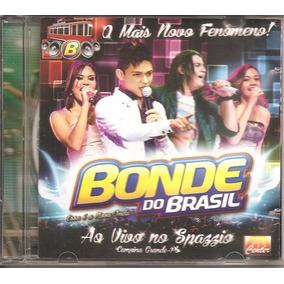 Cd Bonde Do Brasil, Ao Vivo No Spazzio, O Mais Novo Fenomeno