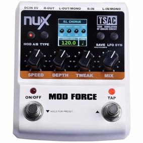Pedal Nux Mod Force Modulação (chorus, Flanger, Tremolo)