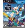Phineas Y Ferb - Ps3 - Físico, Nuevo Y En Caja Sellada!!