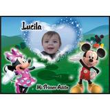 Banners Infantiles,mickey Minnie,gigantografias,1,20mtx0,85m