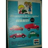 Clipping Publicidad Juguetes Duravit Fiat Citroen Camion Sp