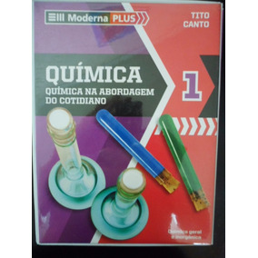 Livro Química Na Abordagem Do Cotidiano Volume 1 Moderna