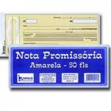 Notas Promissórias Amarelas 50fls - Tamoio