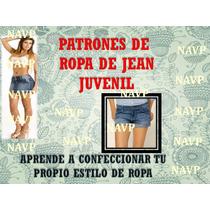 Patrones Para Elaborar Ropa D Dama Short Chaqueta,falda Jean