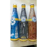 Colección 5 Botellas Pepsi 50 Aniversario