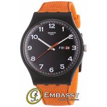 Reloj Swatch Soub709 Hombre Naranja