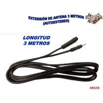 Extension De Antena 3 Metros De Longitud Autoestereo An154