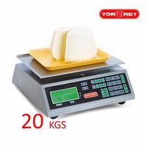 Bascula Comercial 20kg Mfq-20 Torrey