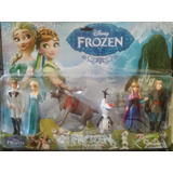 Set X 6 Muñecos De Frozen Ideal Para Decorar Tortas!!